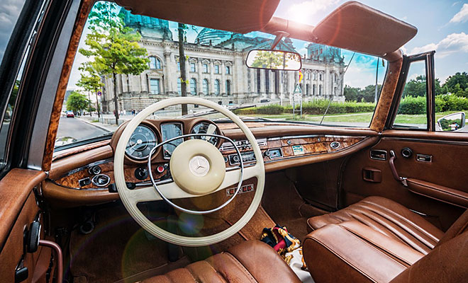 Cabriolet Sightseeing in Berlin